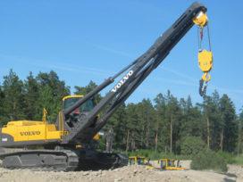 Volvo showt een aantal nieuwe machines