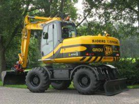 Nieuwe JCB JS 145 W TAB voor Sjoerd Tjepkema