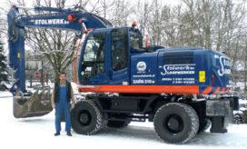 Nieuwe Zaxis 210 W-3 voor Stolwerk – Breda