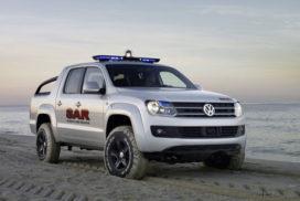 Pick-up van Volkswagen heet Amarok