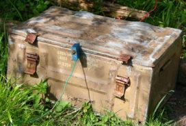 Graafmachine stoot op munitie WOII