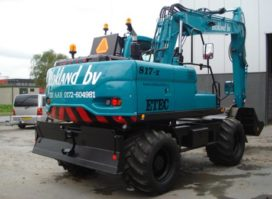 ETEC 817-II M voor Blokland Machineverhuur
