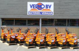 Vijfentwintig Bomag verdichtingsmachines voor Verno