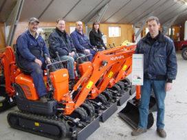 Boersen Machines Kubota-dealer van het jaar