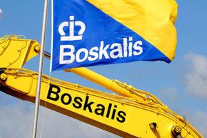 Boskalis maakt minder omzet maar orderboek goeit