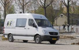 Vier Mercedes-Benz Sprinters voor BSE