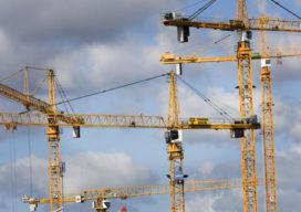 Bouwproductie eurozone stijgt voorzichtig