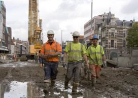 '35.000 arbeidsplaatsen op de schop in de bouw'