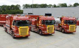 Drie nieuwe Scania R 480 XPI's voor Bredenoord
