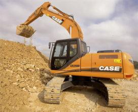 Case CX 210 B tien procent zwaarder