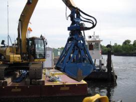 TGS levert 22 vlakgravers voor baggerwerk Hudson River