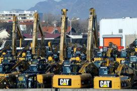 Managers Caterpillar gegijzeld in Frankrijk