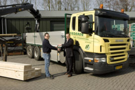 Diederen kiest milieubewust voor nieuwe Scania EEV