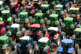 Boeren bezetten Brussel