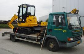 Nieuwe JCB 8035 minigraver voor Dura Vermeer