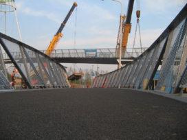 Eerste brug van hogesterktebeton geplaatst