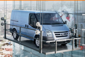 Ford Transit Bestelauto van het jaar 2008