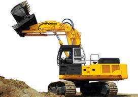 Hyundai presenteert 87 ton zware frontshovel