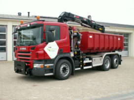 Imposante Scania XPI kraanauto voor Gemeente Grave