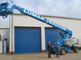 Genie primeur voor HDW-Nederland en Verhuurbedrijf Lumar