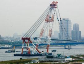Brugrenovatie in Tokyo