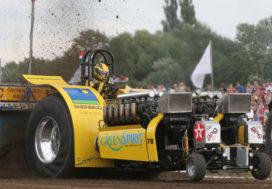 Tractorpulling Gelredome: spektakel gegarandeerd