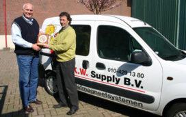 Gold Award voor K.W. Supply Magneetsystemen