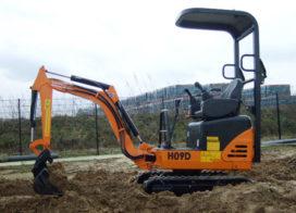 Nieuwe Hanix H09D minigraver