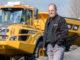 Machinist van de Maand JUNI: Herold Nales en zijn Volvo A30G knikdumper