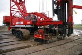 Funderingsgigant van 240 ton