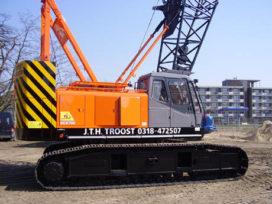 Eerste Hitachi SCX 700 in Nederland