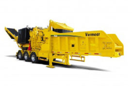 Vermeer introduceert nieuwe horizontale houtshredder
