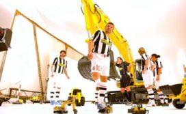 New Holland sponsort voetbalclub Juventus