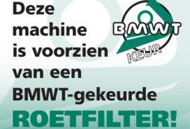 Subsidieregeling Roetfilters Mobiele Werktuigen gaat in