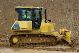 Komatsu D51 bulldozer wint designprijs