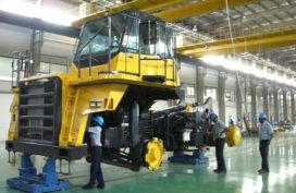 Komatsu bouwt nieuwe machinefabriek in China