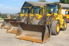 Drie nieuwe Volvo shovels voor Niek Konijn BV