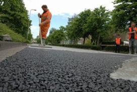 Ridderkerk primeur met luchtzuiverende asfaltverharding