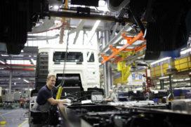 Verkoop bedrijfswagens in Europa neemt verder af