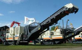 Metso Minerals lanceert nieuwe mobiele afvalbreker