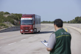 Mercedes-Benz Actros in het Guiness Book of Records
