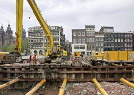 Amsterdam in actie tegen stilval bouwprojecten