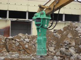 Zwaarste Montabert hamer ingezet