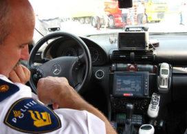Politie betrapt verdachte bij diefstal vrachtauto
