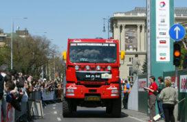 MAN aan de leiding in Central Europe Rally