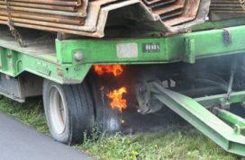 Brandende remmen
