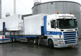 Unieke Scania trekker voor Synwood