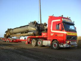 Tweede Broshuis oplegger voor Schouten Transport