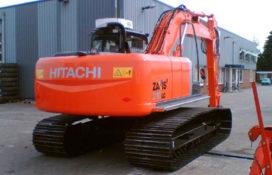 Hitachi ZX 210 LC3 voor sloop en asbestverwijdering