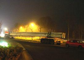 Spectaculair transport voor nieuw dak Kramp Varsseveld